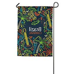 Creative Carnival Favorite 18 X 27 Prime Garden Flag For Gar