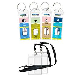 Cruise Luggage Tags Etag Holders Zip Seal and Steel Loops Th