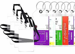 Highwind Cruise Tags Luggage Etag Holders Zip Seal Steel Loo