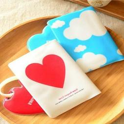 Cute Gift Silicone Love/Cloud Travel Passport Holder Cover L