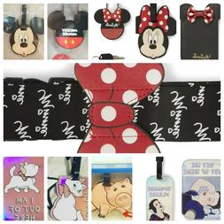 DISNEY MINNIE MOUSE / SNOW WHITE Passport Cover / Luggage Ta