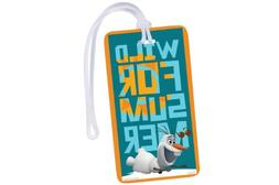 National Design Disney Olaf Luggage and Backpack ID Tag