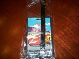 Disneyland Resort luggage tag Cars Land American tourister