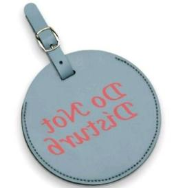 American Tourister Do Not Disturb Large Luggage Tag - Grey