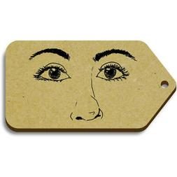 'Facial Features' Gift / Luggage Tags