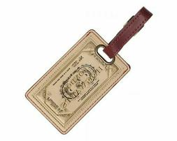 HARRY POTTER - HOGWARTS TICKET - LUGGAGE TAG - BRAND NEW - T