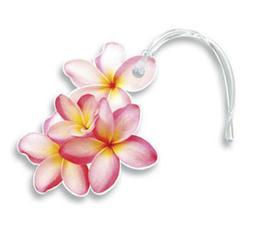 Hawaiian Luggage ID Bag Tag Travel Accessories Die Cut Pink