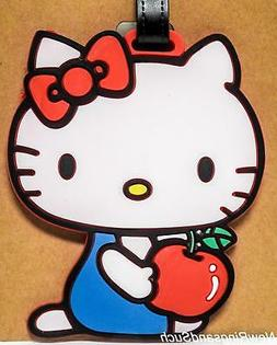 Hello Kitty Luggage Tag Silicone Easy to Find Bright Colorfu