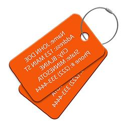 High Visibility Multi Pack Customized Tavel ID Tag - Luggage