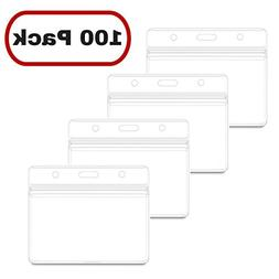 MIFFLIN Horizontal Nametag Name Badge Holders