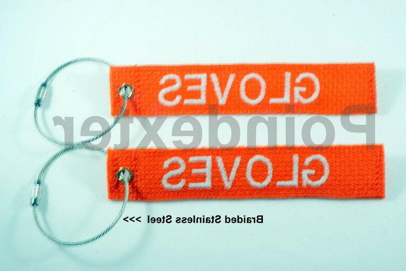 1 nylon luggage tag ss double sided