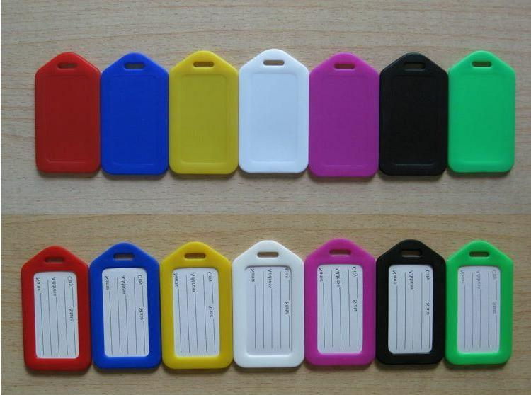 10 Travel Luggage Bag Tag Office ID Label