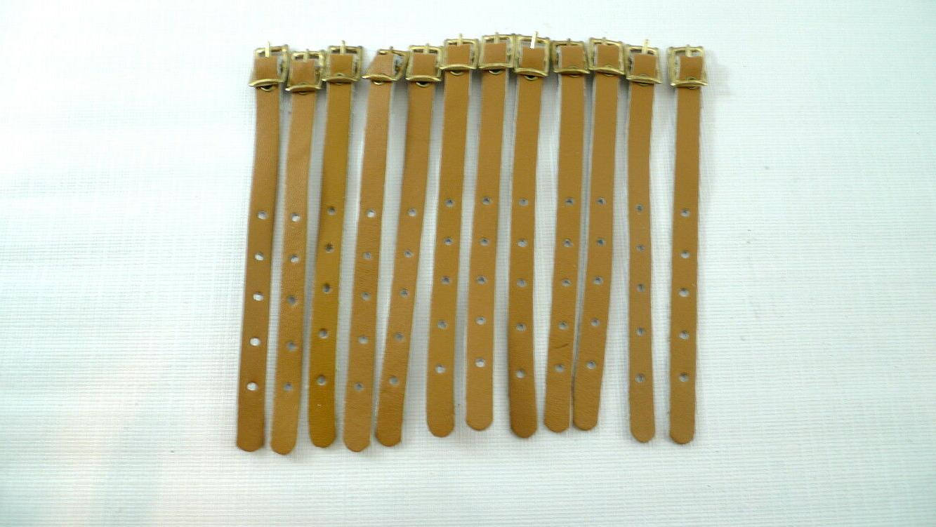 12 tan luggage tag straps 5 adjustable