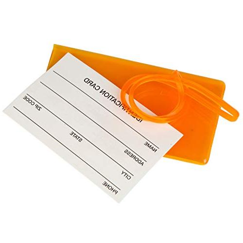 7 Pack Tags For Silicone ID Identification Labels For & Color Pack