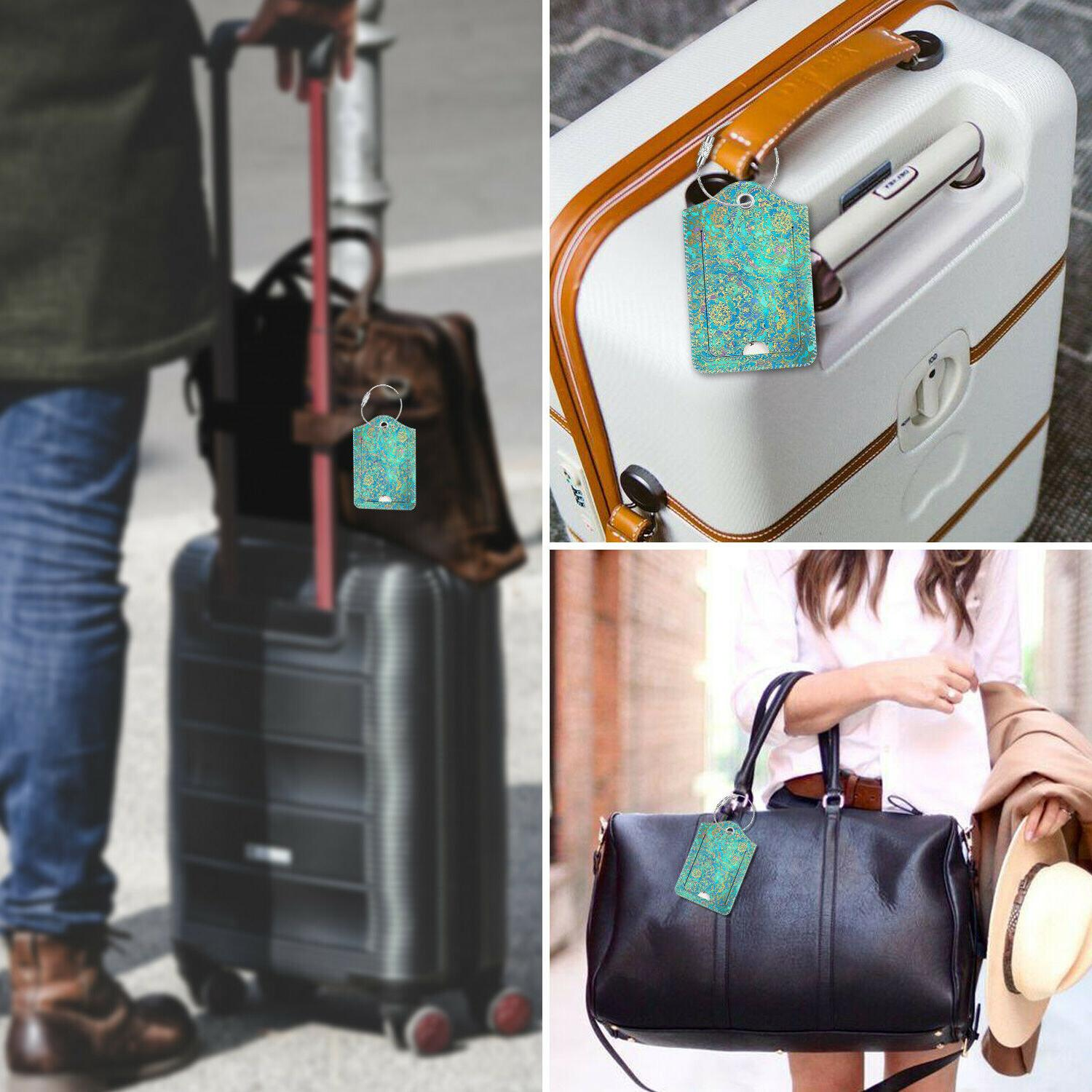 Luggage Tags Card Holder Suitcase Labels