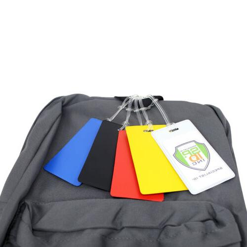 100 pcs Bright Backpack ID Student ID, After & Luggage