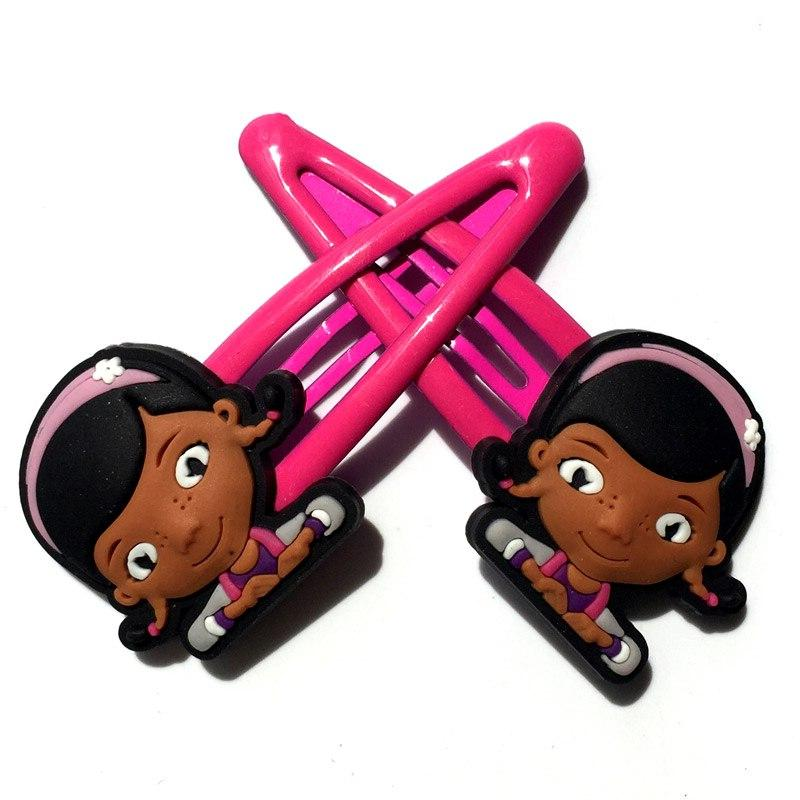 2pcs Clips Cartoon Hairpins Barrettes Headwear Hair Travel