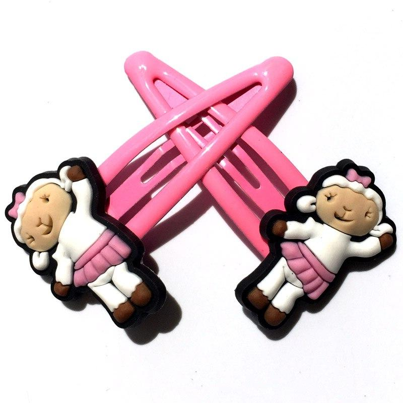 2pcs Doc Clips Cartoon Girls Barrettes Headwear