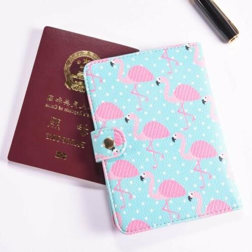 2X Passport Holder Cover Tag Travel Label