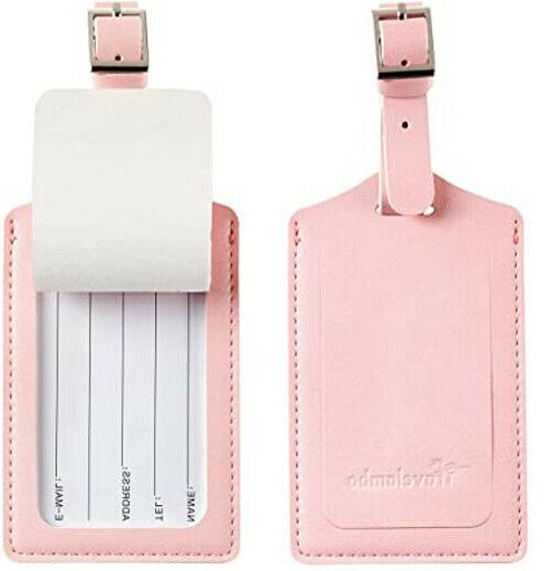 4 Pack Tags w/ for - Pink Free