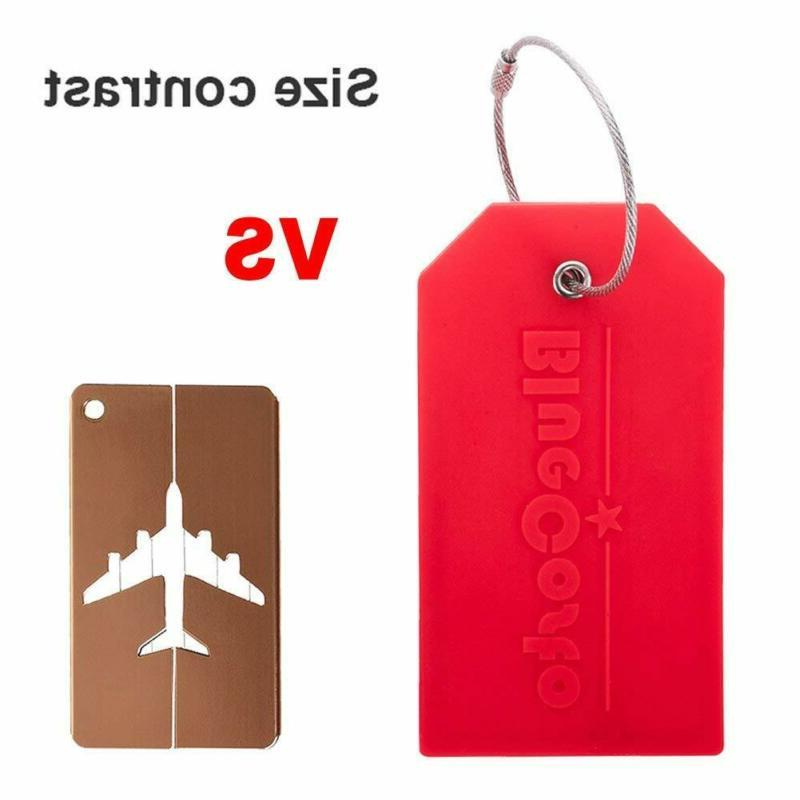 BlueCosto Pack Tags Travel Bag Labels