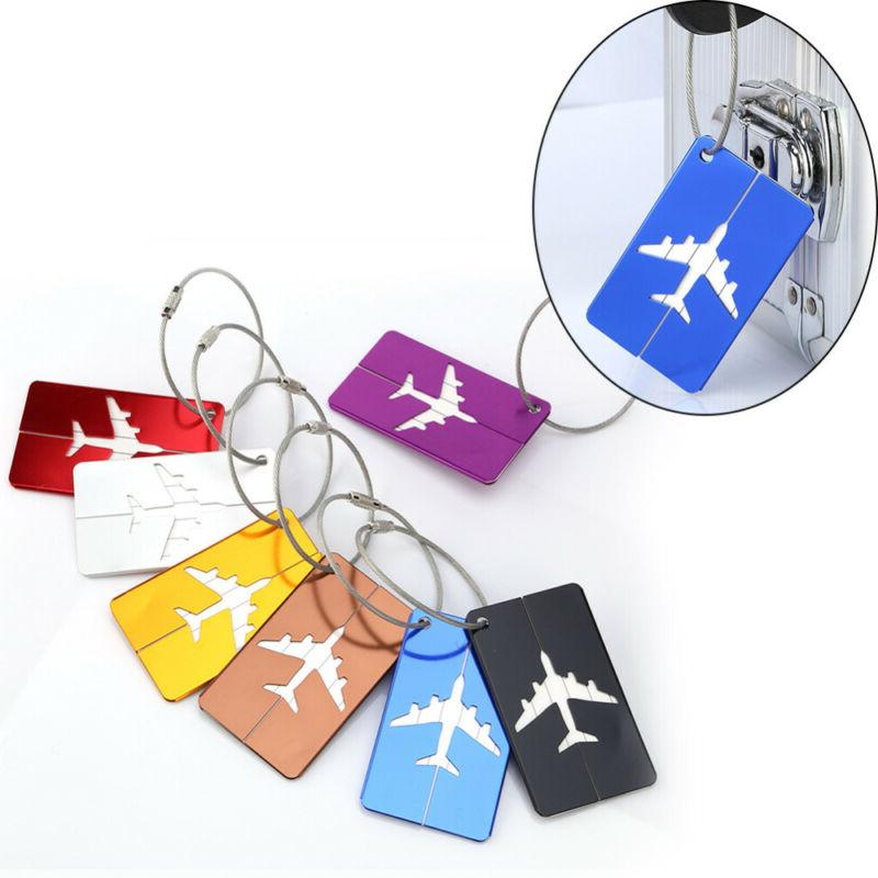 7pc Suitcase ID Bag Baggage Tag Travel