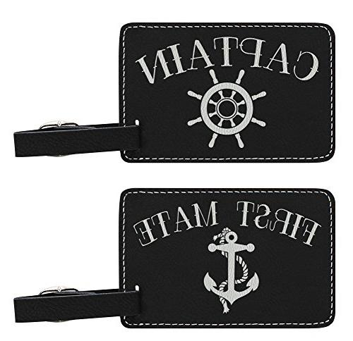 2 Pack Luggage Tags Anchors Cruise Luggage Tag For Suitcase Bag Accessories