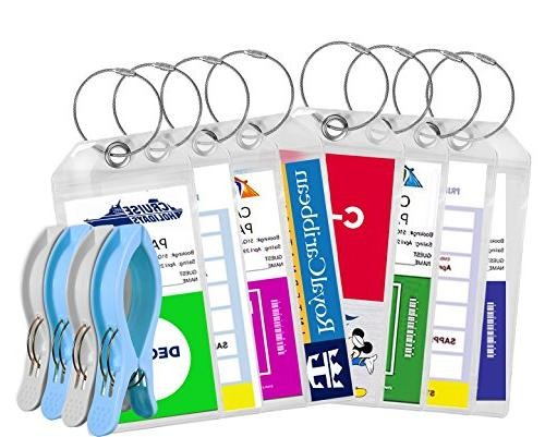 Cruise Luggage Tags Tags For Traveling - Durable PVC e-Tag H