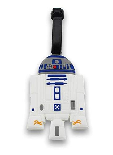 Finex - Travel Luggage ID Tag Bag Strap BB8 Kylo Ren Stormtrooper R2D2