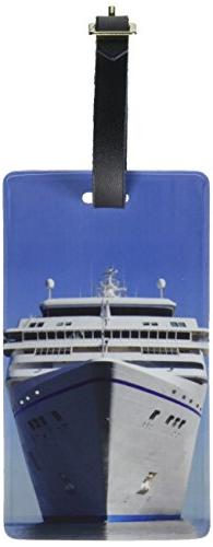 Graphics & More Cruise Ship on Ocean-Vacation Luggage Tags S