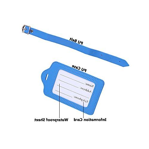 Travel Bulk PU Tag - Labels Suitcases Pack