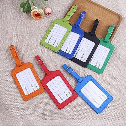 Travel Luggage Bulk Tag Labels Pack