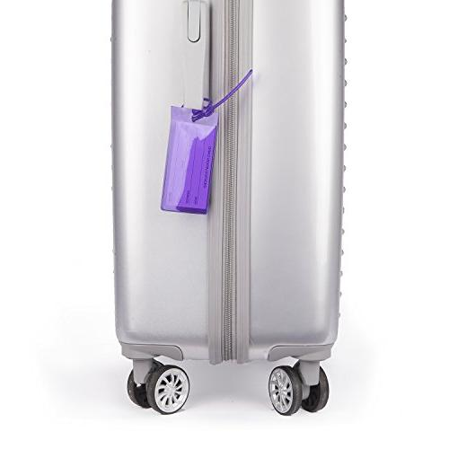 TravelMore Luggage Suitcases - Flexible ID Set for Travel