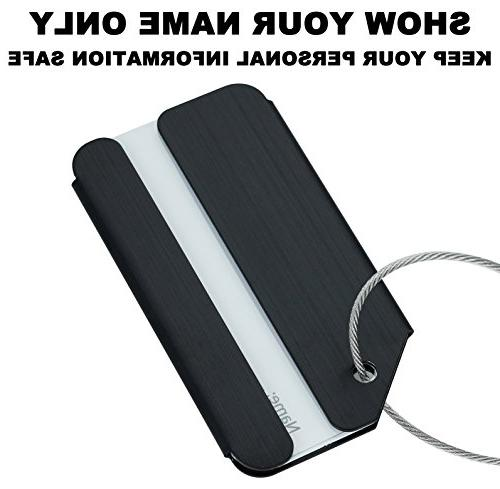 Travelambo Tags Bag Aluminum