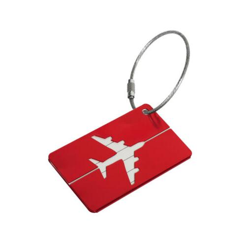 Aluminium Tags Label Address ID Baggage Travel