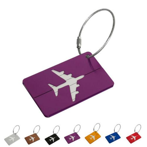 Aluminium Tags Label Baggage Bag Travel