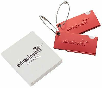 Travelambo Aluminum Bag 2 Set Red