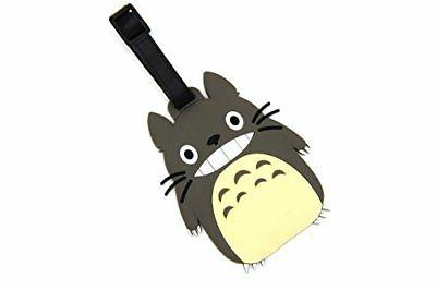CellDesigns Anime Totoro Luggage Tag Suitcase ID Tag with St