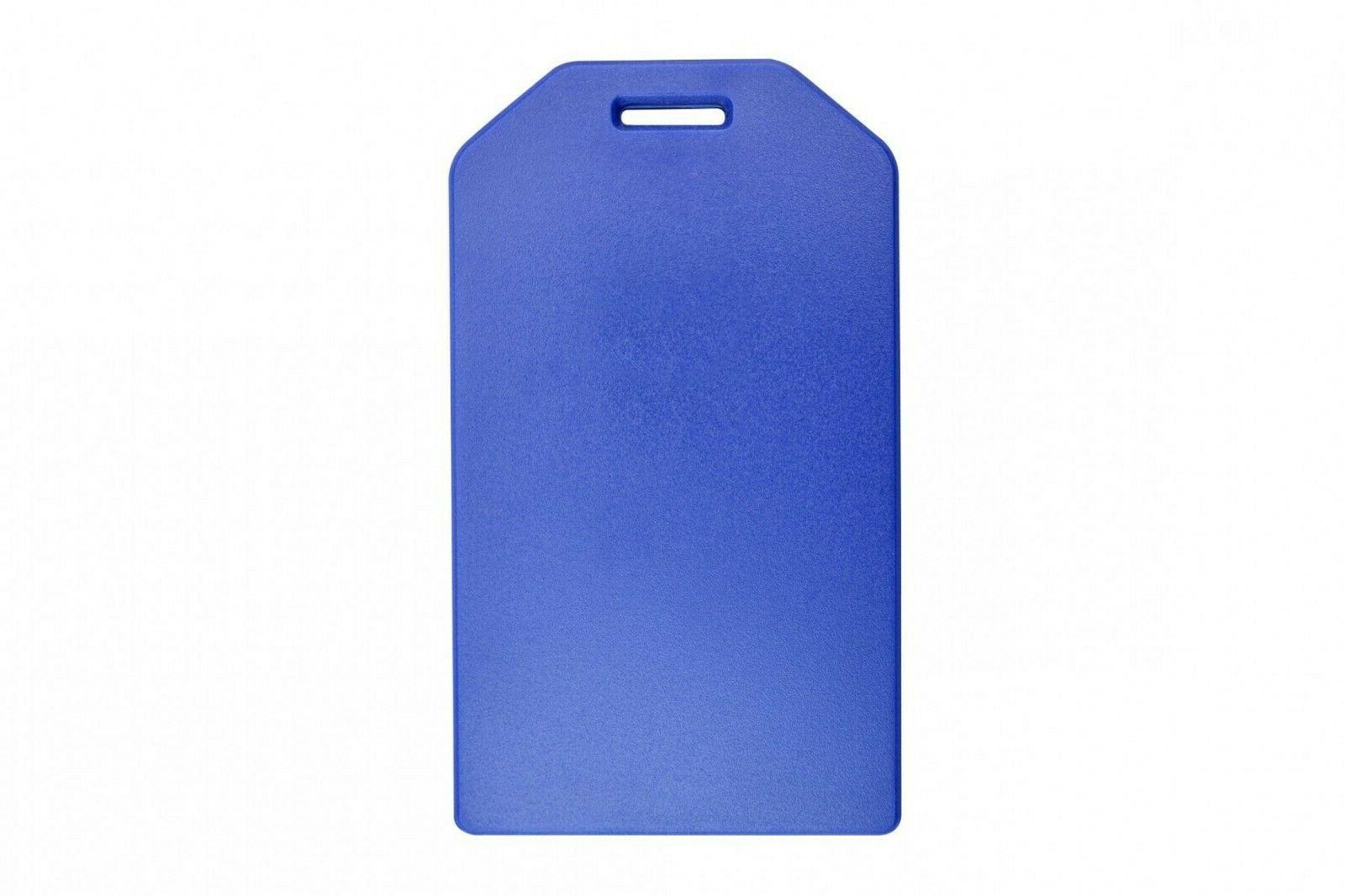 Blue Tag Holder Clear insert cover -
