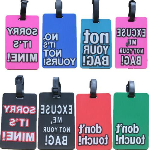 Cartoon Name Suitcase Tag