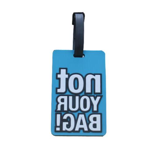 Name Silicone Suitcase Tag Luggage Label