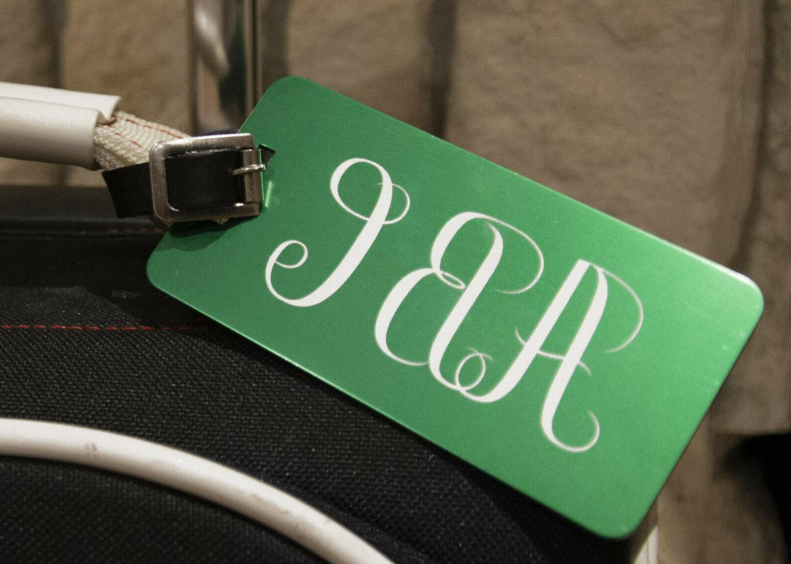 Custom Jumbo Luggage Tag- Colors Available- Personalized