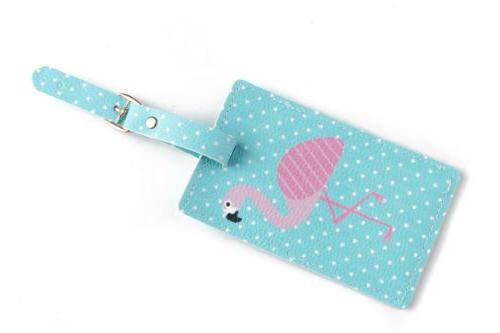 Cute Printing Passport Luggage Tag Address