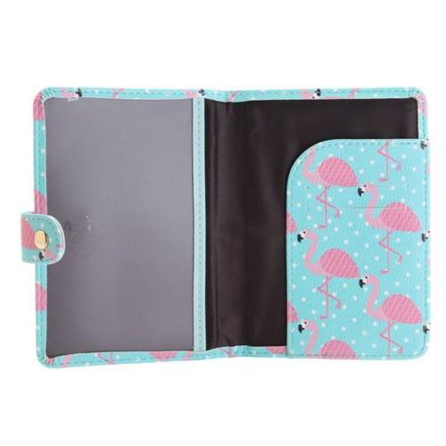 Cute Leather Passport Holder Cards Case Cover Tags