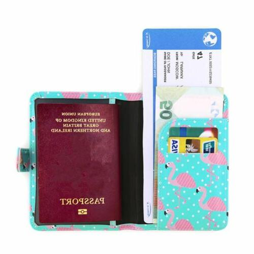 Cute Passport Cards Case Luggage Tags