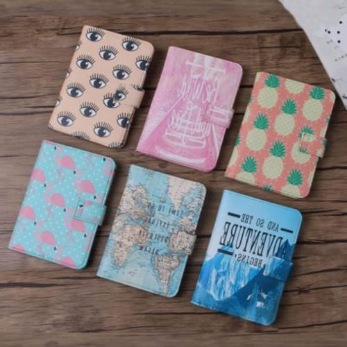 Cute Passport Holder Cards Tags