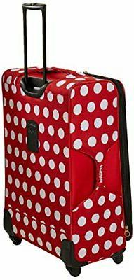 American Tourister Disney Minnie Mouse Polka Dot Softside Sp