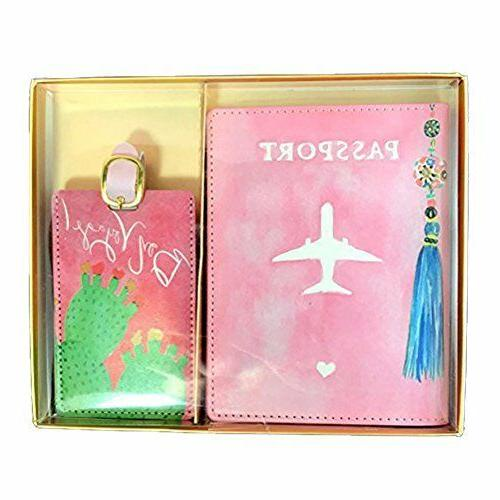 Eccolo Leather Passport Cover and Set