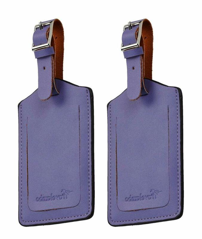 Travelambo Leather Tags