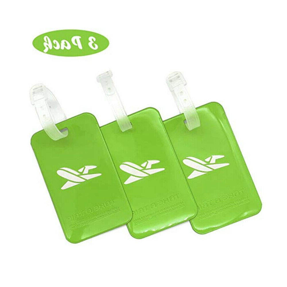 Lightweight Waterproof Bright Color Tag 7-Color